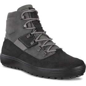ECCO Soft 7 Tred Støvle sneaker Herrer, sort/grå